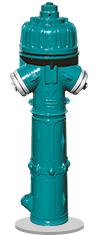 1980 - hydrant