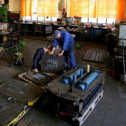 Moulding pattern production