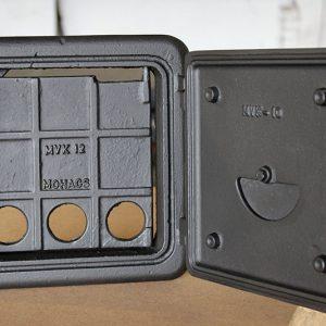 MVK kandalló ajtó kompletten