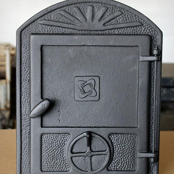 Díszes kandalló ajtó