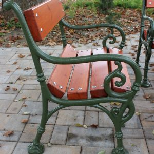 Cast iron street furniture, decorative items